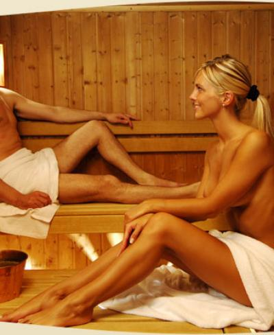 Hot sauna sporking